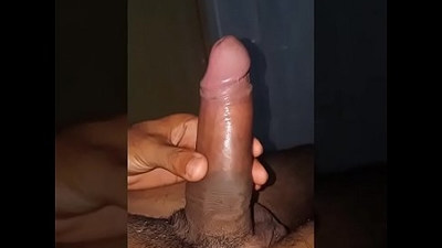 Indian Twink Plays With His Lund