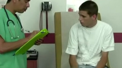 Gay doctor male physical video and medical milking I had received an