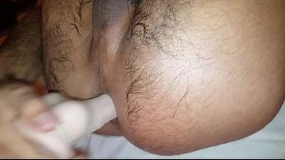 Orgasm anal cu didlo