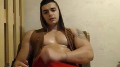 Asian amateur muscle webcam sex show