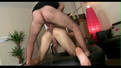 Steamy hawt homo sex with blowjob and deep hard anal banging