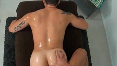 Gay massage porn with masseurs and clients