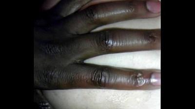 Sissy whiteboy pounded big black cock