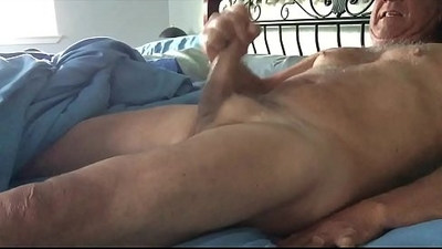 Mature male cuming