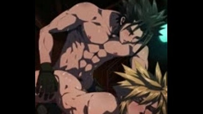Hot anime gay couple fucking hardcore