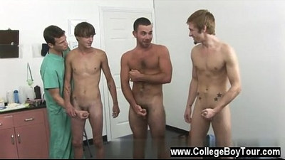 Male models Today a group of men stop by the clinic wanting to