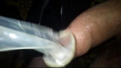 cum in condom,cumplay,using cum and cum again