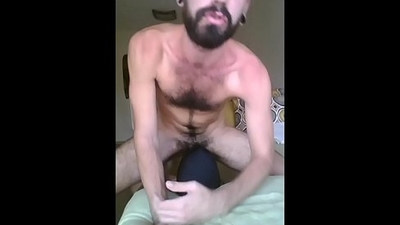 Using my slaves mouth and breeding his pussy