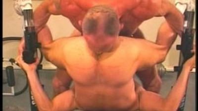 daddies gym hard workout