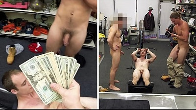GAY PAWN Fitness Trainer Gets Anal Banged By Two Employees
