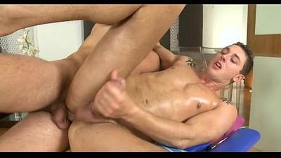 Hot and wild homo blowjob