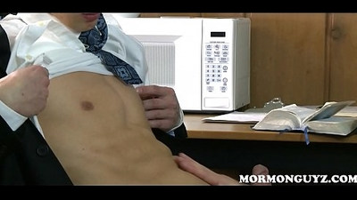 Mormon Boy Pleasures Twink Study Buddy