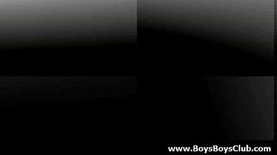 Big muscled black gay boys humiliate white twinks hardcore