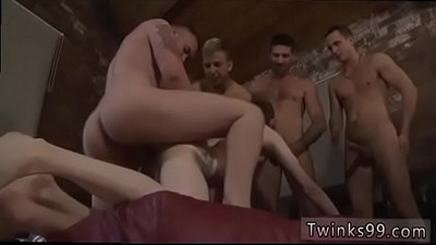 Older compeer seduction gay porn James Gets His Sold Hole Filled!